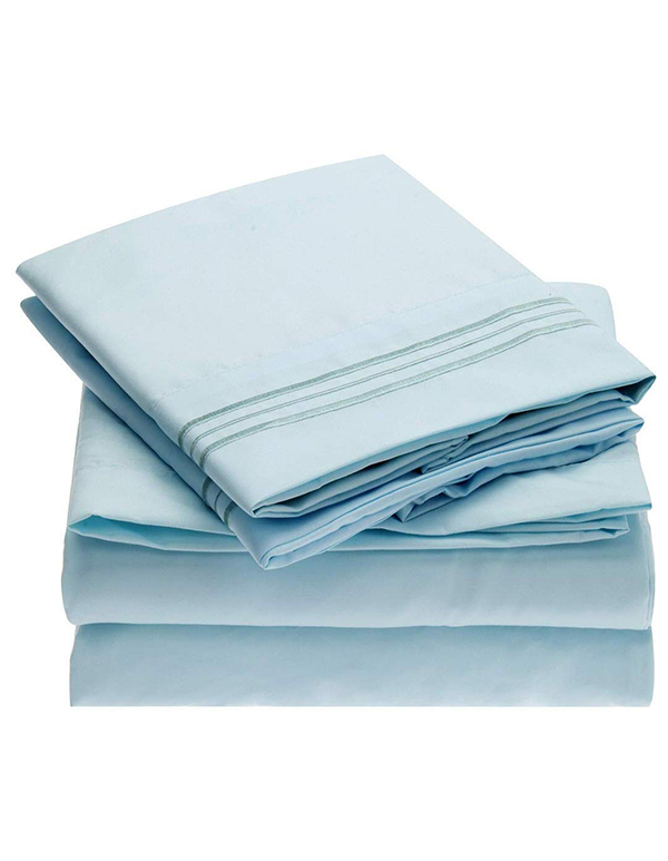 Perla Furniture Sheet Set Brushed Microfiber